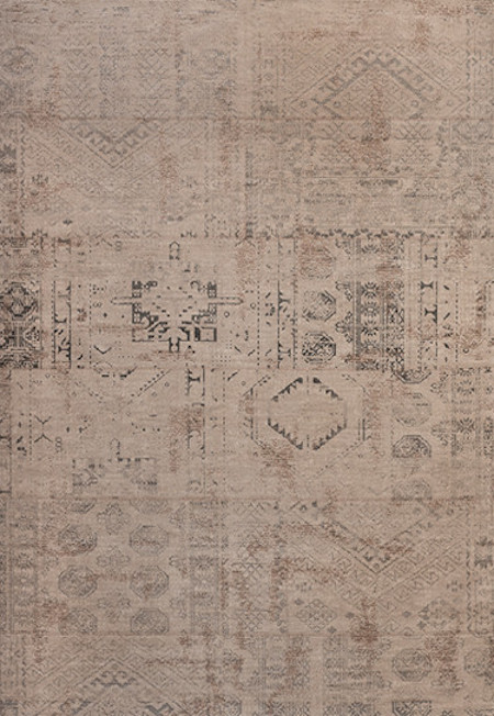 Teppich Vintage Kilan Silver Beige