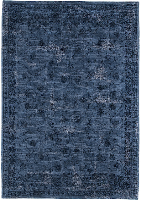 Teppich Vintage Palatino Scuro Blu