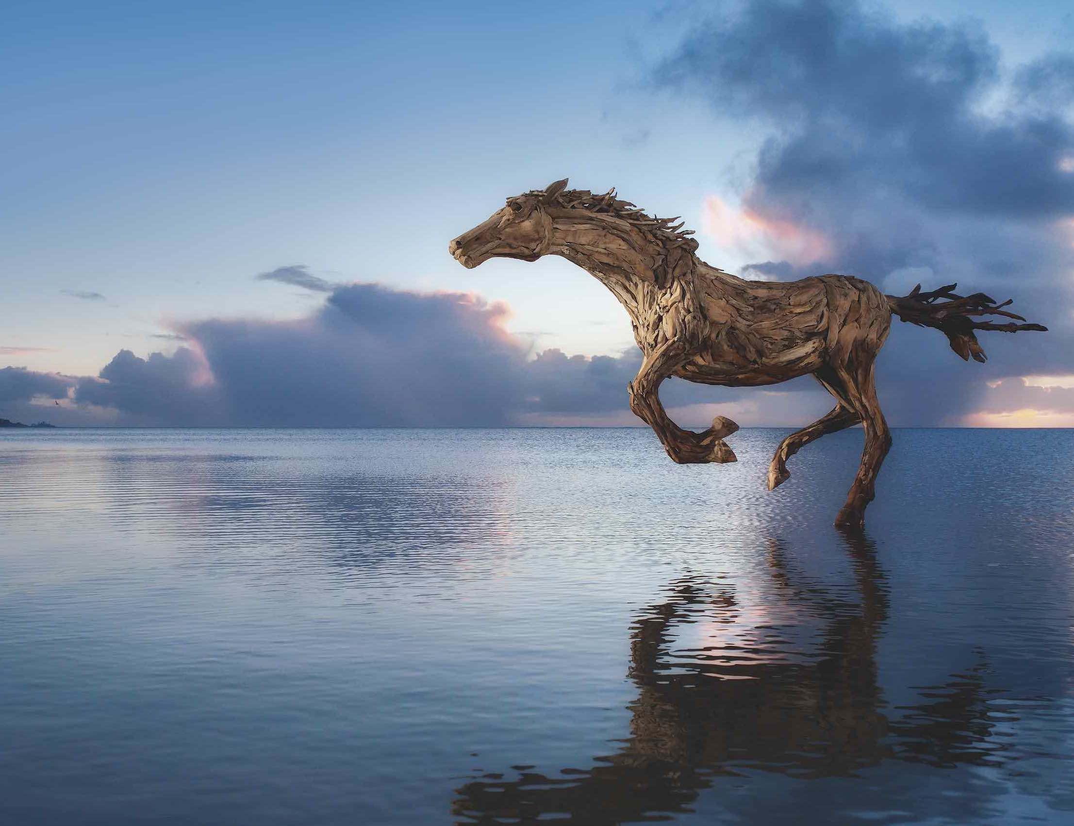 Pferd laufend