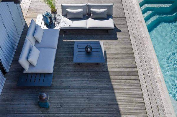 Montreux Modul  2-Sitzer & Tisch