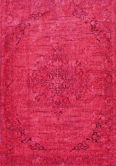 Teppich Vintage Allegro Sangue Rosso